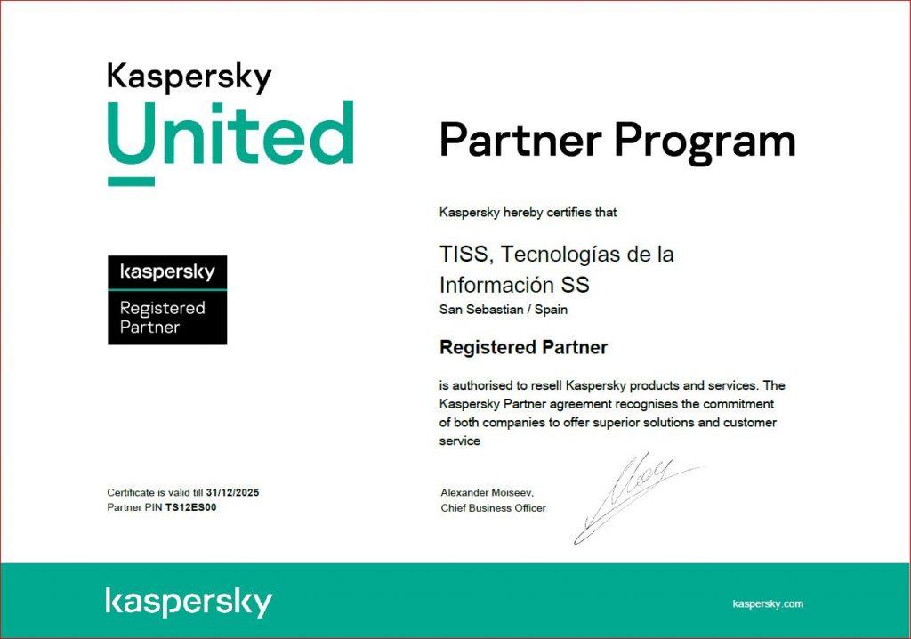 partners kaspersky
